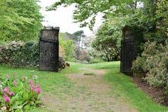 Rowallane trädgårds- nordligt - Irland Royaltyfria Foton