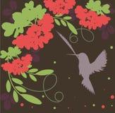 Rowan bunch. Abstract autumn vector wallpaper Royalty Free Illustration
