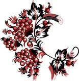 Rowan wzór Obraz Royalty Free