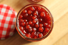 Rowanberry jam Stock Photography
