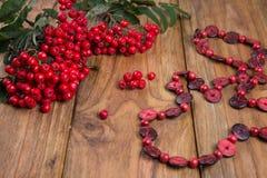 Rowanberry Stock Photo