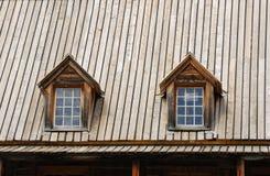rowand крыши дома dormers стоковая фотография