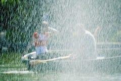 rowboat пар Стоковое фото RF