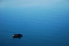 Rowboat. Ohrid lake, Struga, Republic of Macedonia Royalty Free Stock Photography
