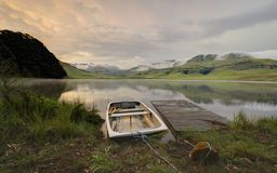 rowboat Royalty-vrije Stock Afbeelding