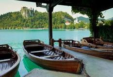 Rowboat horizontal Stock Photo