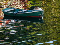 Rowboat Reflections Royalty Free Stock Photo