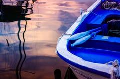 Rowboat On The Sea Royalty Free Stock Photo