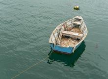 Lonely rowboat Royalty Free Stock Photos