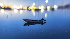 Rowboat w point loma Zdjęcia Royalty Free