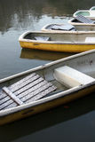 Rowboats Fotografie Stock