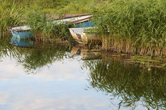 Rowboats Stock Photography