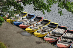 rowboats Стоковые Изображения
