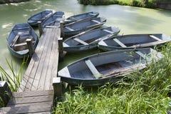 Rowboats Stock Image