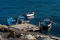 Rowboats On The Sea Royalty Free Stock Image