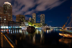 Rowe's Wharf in Boston Royalty Free Stock Images