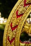 Rowel, koło sztuka, jest pospolity w Azjatyckich świątyniach zdjęcie stock