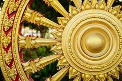 Rowel, koło sztuka, jest pospolity w Azjatyckich świątyniach Obraz Royalty Free
