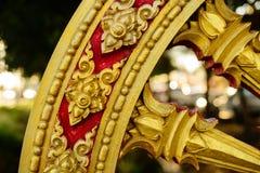 Rowel, koło sztuka, jest pospolity w Azjatyckich świątyniach Obrazy Royalty Free