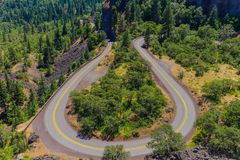 Rowena Crest Viewpoint royalty-vrije stock fotografie