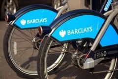 rowerów cyklu dzierżawienie London Fotografia Stock