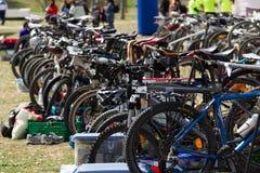 rowerów target4670_1_ Zdjęcia Stock