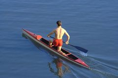 Rower Royalty Free Stock Photo
