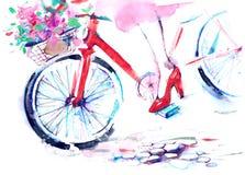 rower royalty ilustracja