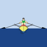 Rower Royalty Free Stock Images