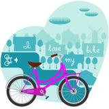 Rower ilustracji