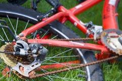 rower czerwień Zdjęcie Royalty Free