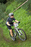 rower górski mtb racer xc Obrazy Stock