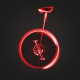Rower ilustraci maski Abstrakcjonistyczny Wektorowy bicykl Obraz Royalty Free