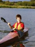 Rower joven Foto de archivo