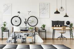 Rower na bedhead fotografia stock