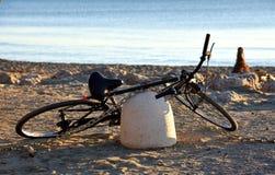 Rower na plaży Zdjęcie Stock