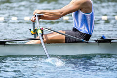 Rower rowing race Stock Photos