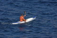 Rower. Royalty Free Stock Photo