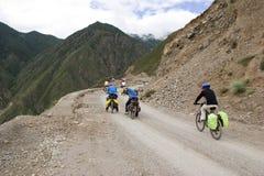 rower Tibet ja target1555_0_ Obraz Stock