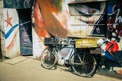 Rower w Nairobia Kenja w Afryka obrazy royalty free