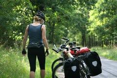 rower wycieczka Zdjęcie Stock