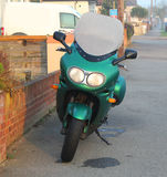 rower z drogi Zdjęcia Stock