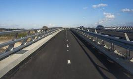 Rowerowa ścieżka w Holandia Fotografia Stock