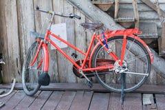 rowerowa czerwień Zdjęcie Royalty Free