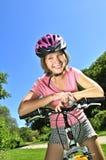 rowerowa dziewczyna nastoletnia Obraz Stock