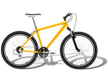 rowerowa góra Zdjęcia Royalty Free