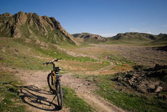 rowerowa góra Zdjęcie Royalty Free