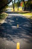 Rowerowa i chodząca ścieżka Fotografia Royalty Free
