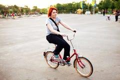 rowerowa jazda Obraz Stock
