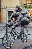 rowerowa kobieta obrazy royalty free